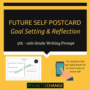 Future Self Goal Setting & Reflection Postcards