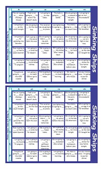 Future Simple Tense with Going To Battleship Board Game