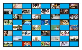 Future Simple Tense with Going To Spanish Legal Size Photo Checkers Game