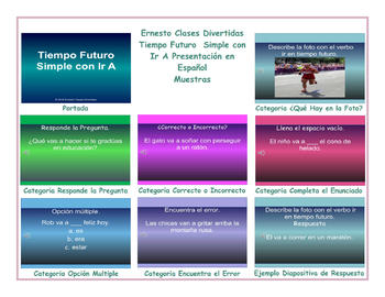 Future Simple Tense with Going To Spanish PowerPoint Presentation