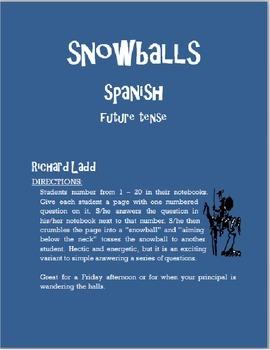 Future Snowballs SPANISH