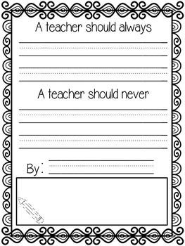 Future Super Teacher Class Book (Student Teacher Gift)