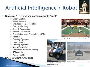 Future Technology Presentation (Computers, nanotechnology materials)