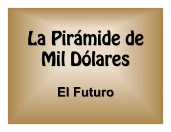 Spanish Future Tense $1000 Pyramid Game