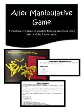 Aller & Future Tense Manipulative Game