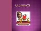 French Future Tense Mad Lib - La Savante (The Fortune Teller)