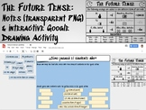 Future Tense Notes and Google Drawing Activity