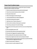 Future Tense - Plot Questions