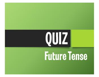 Spanish Future Tense Quiz