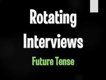 Spanish Future Tense Rotating Interviews