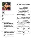 Future Tense Song Worksheet - No sere by Julieta Venegas