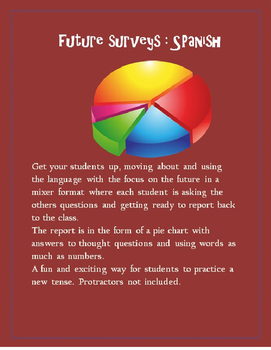Future Tense Surveys SPANISH