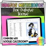 Future Tense Verb Mystery Images | Use with Google Apps |