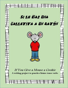Future Tense Verb Writing Project in Spanish