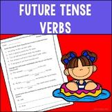 Future Tense Verbs Assessment