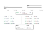 Future Tense with Will and Won't ESL Worksheet for childre