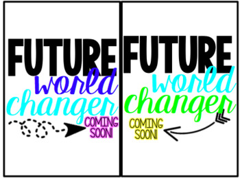 Future World Changer 4x6 Photo Filler