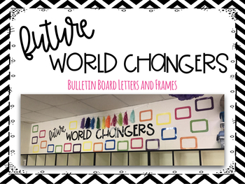 Future World Changers Bulletin Board Pack