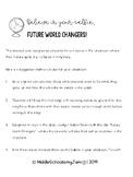 Future World Changers printable