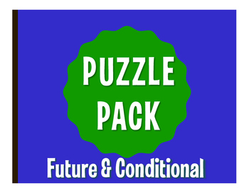Spanish Future and Conditional Puzzle Pack