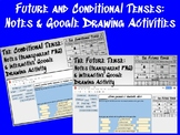 Future and Conditional Tense: Notes and Google Drawing Activities