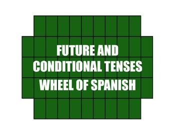 Spanish Future and Conditional Wheel of Spanish