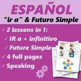 "Español: El futuro: ""IR A"" y Futuro Simple (Spanish: Future tense)"