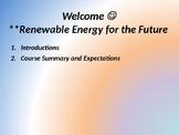 Future of Renewable Energy Powerpoint