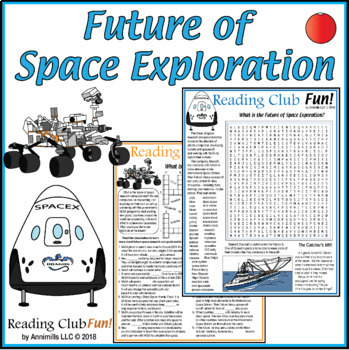Future of Space Exploration - NASA, Mars, Beyond (puzzles and photos)