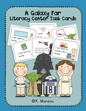 Futuristic Friends Literacy Center Word Work Task Cards