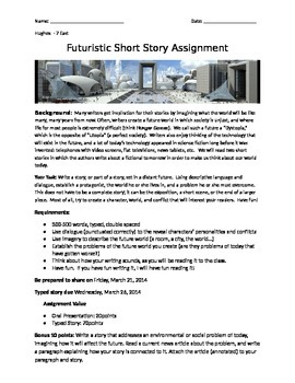 Futuristic Short Story Assignment