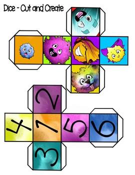 Fuzzball Escape - A Rounding to the Nearest Ten Board Game