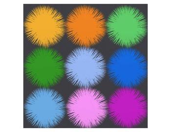 Fuzzy Balls - Clip Art