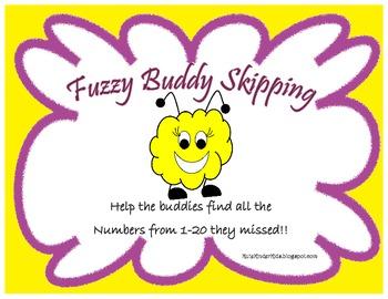 Fuzzy Buddy Skipping 1-20