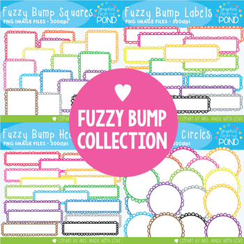 Borders and Labels - Fuzzy Bump Collection