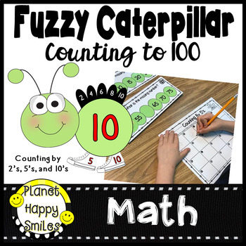 Fuzzy Caterpillar Counting to 100