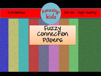 Fuzzy Connection Papers Clip Art - FREE