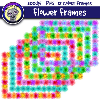 Flower Frames Borders