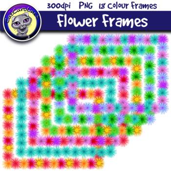 Flower Frames Borders
