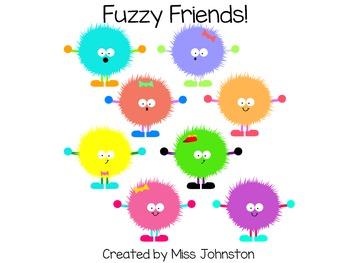 Fuzzy Friend Clipart (set of 8)