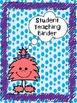 Fuzzy Friends/Monsters Binder Dividers/Covers