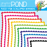 Fuzzy Fun Scalloped Border Frames