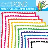 Fuzzy Fun Scalloped Border Frames
