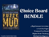 Fuzzy Mud Choice Board BUNDLE 10 Activity Pages Book Proje