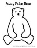 Fuzzy Polar Bear Template