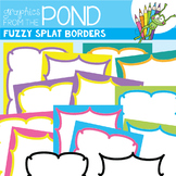 Fuzzy Splat Borders / Frames