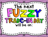 Fuzzy Trade-In Day Poster *FREEBIE*