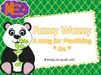 Fuzzy Wuzzy - A Song for Do