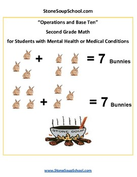 G 2 - Operations and Base Ten - Students w/ Mental Health or Medical Conditions