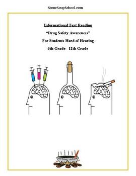 G 3 - 5 Drug Safety Awareness For Hearing Impaired